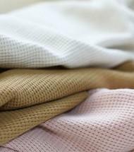 Waffle Knit Jersey Fabric