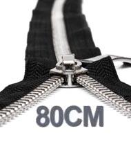 80CM Lynlåse YKK Metallo