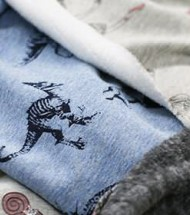 Sweatshirt Fleece Fabric Printed