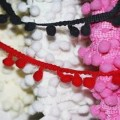 Pom Pom Trim Ribbons 6mm Medium