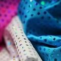 Lycra Stoff Glitter Pailletten