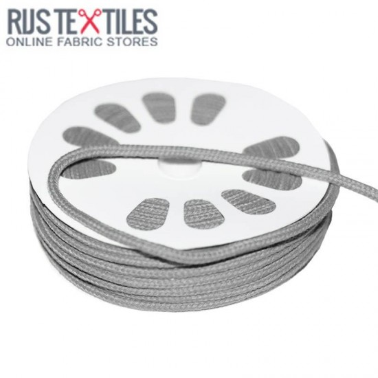 Cotton Cord Grey 3mm (Per Meter)