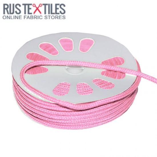 Cotton Cord Pink 3mm (Per Meter)