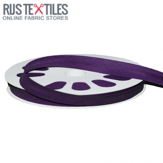 Cotton Bias Binding 12mm Purple