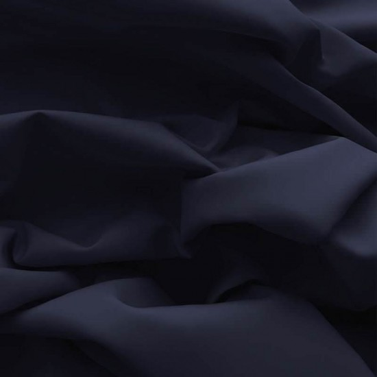 Poplin Cotton Fabric Navy
