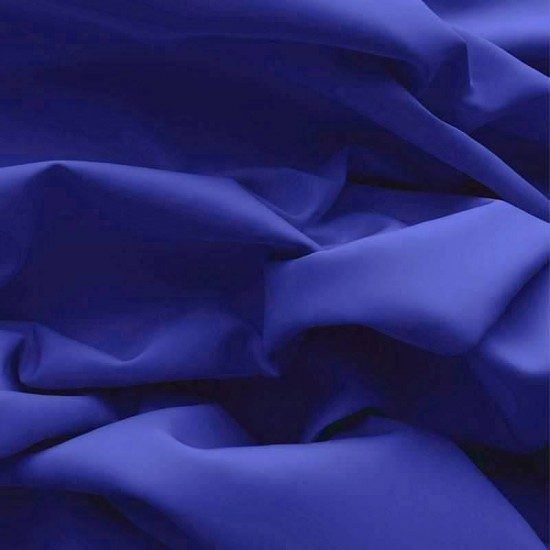 Poplin Cotton Fabric Cobalt