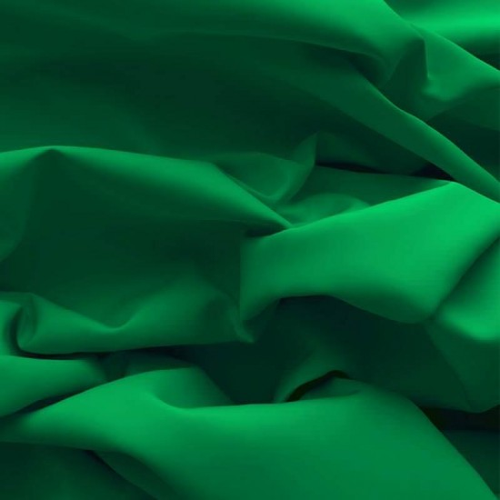 Poplin Cotton Fabric Grass Green