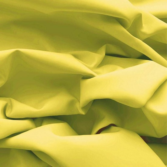 Poplin Cotton Fabric Yellow