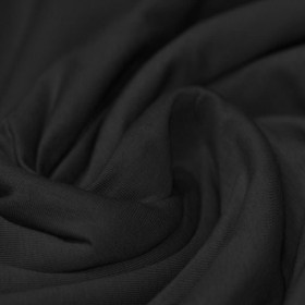 Cotton Jersey Knit Fabric Black
