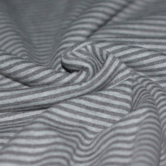 Jersey Stripes 3mm Grey Anthracite