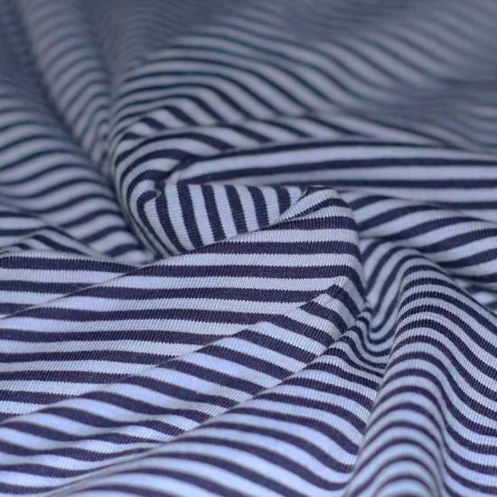 Jersey Stripes 3mm Blue Navy