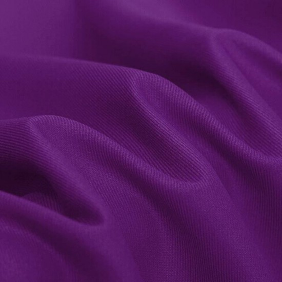 Bomuld Twill Violet