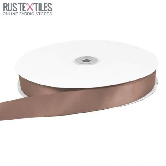 Satin Ribbon 16mm Taupe