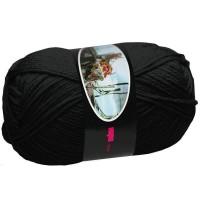 Knitting Wool ISPE Needle Size 4 Black