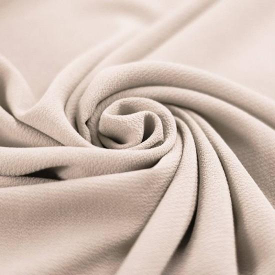 Bubble Chiffon Fabric Stretch Beige
