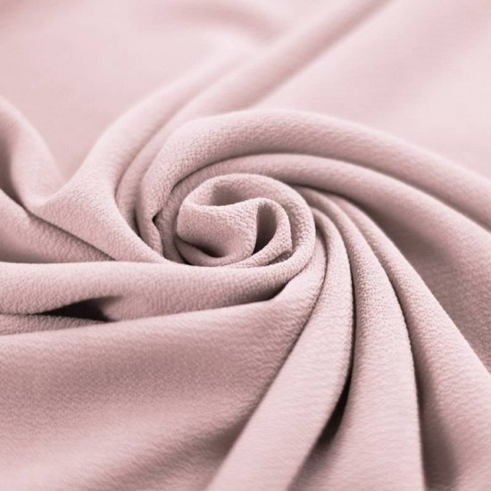 Bubble Chiffon Fabric Stretch Nude Pink