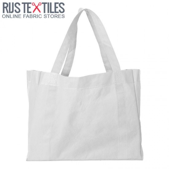 Canvas Fabric White