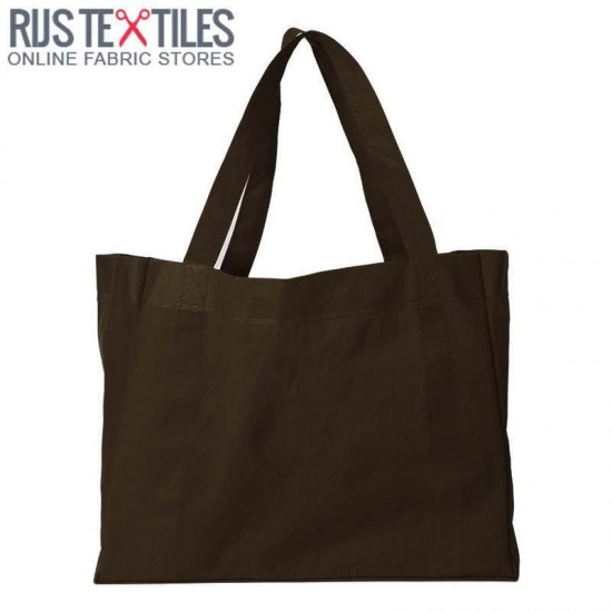 Canvas Fabric Brown