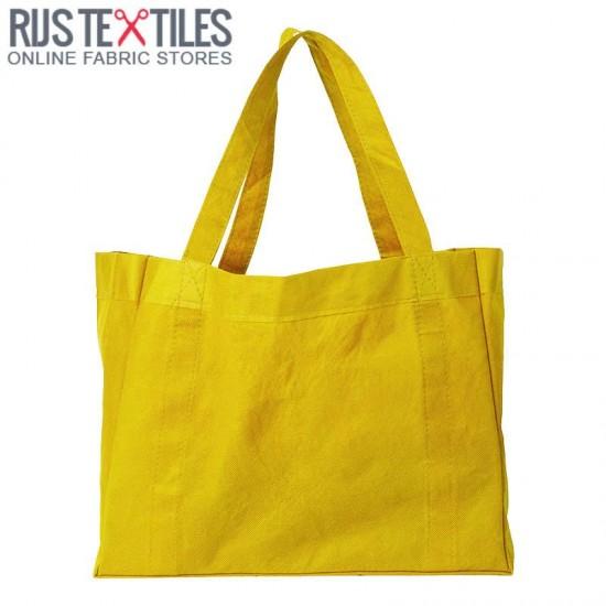 Canvas Fabric Yellow