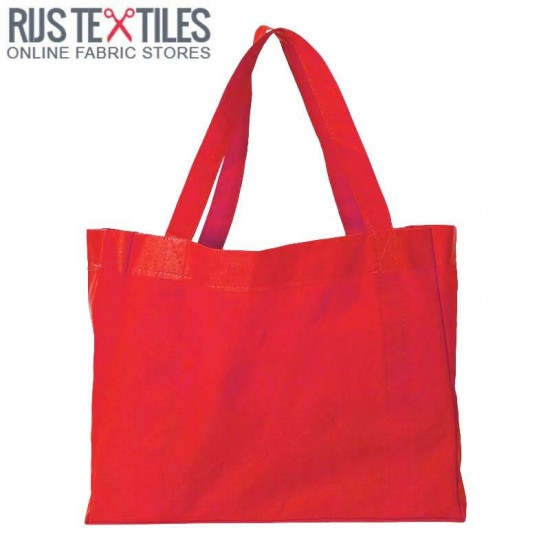 Canvas Fabric Red
