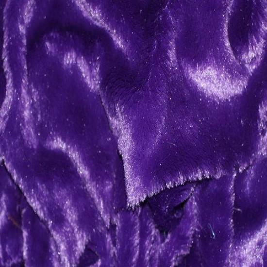 Fur Fabric Purple