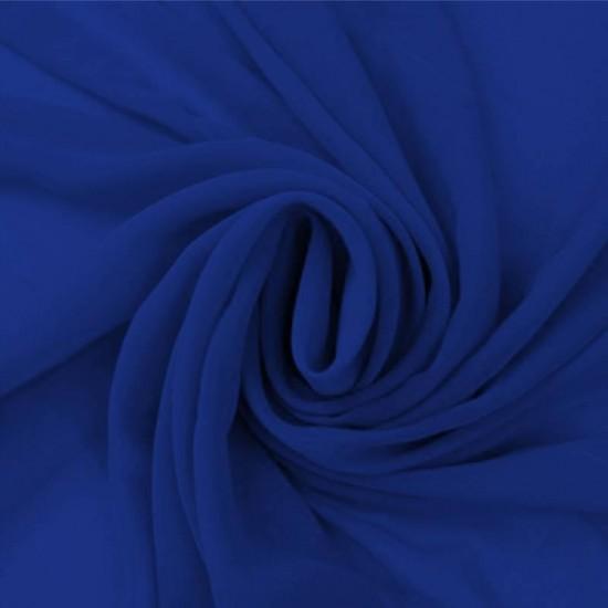 Chiffon Fabric Cobalt
