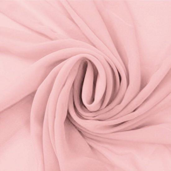 Chiffon Fabric Pink