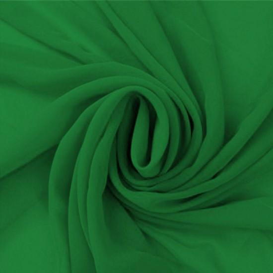 Chiffon Fabric Green
