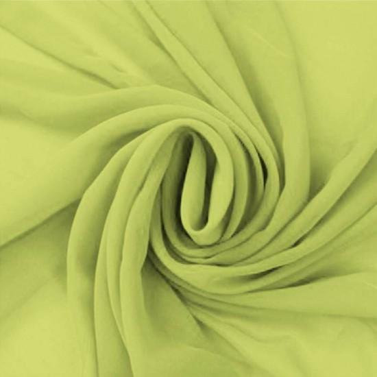 Chiffon Fabric Lime