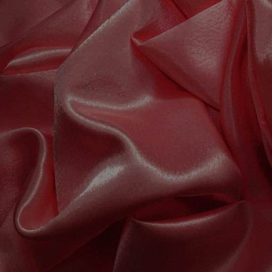 Crepe Satin Dark Red