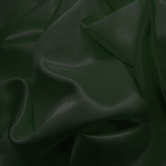 Crepe Satin Dark Green
