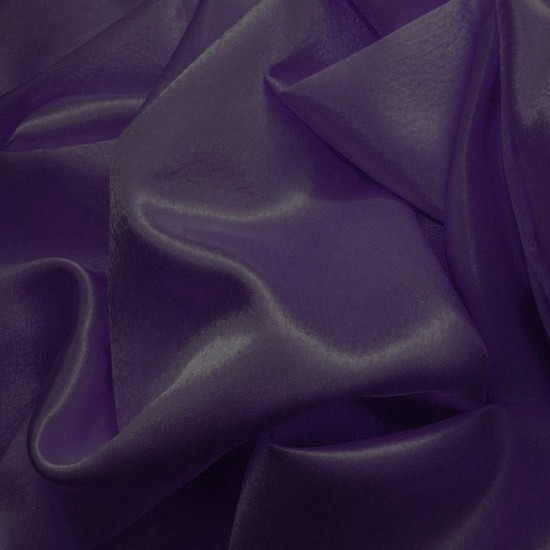 Crepe Satin Dark Purple