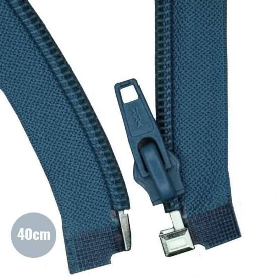 Divisible Zipper YKK Jeans 40CM Nylon
