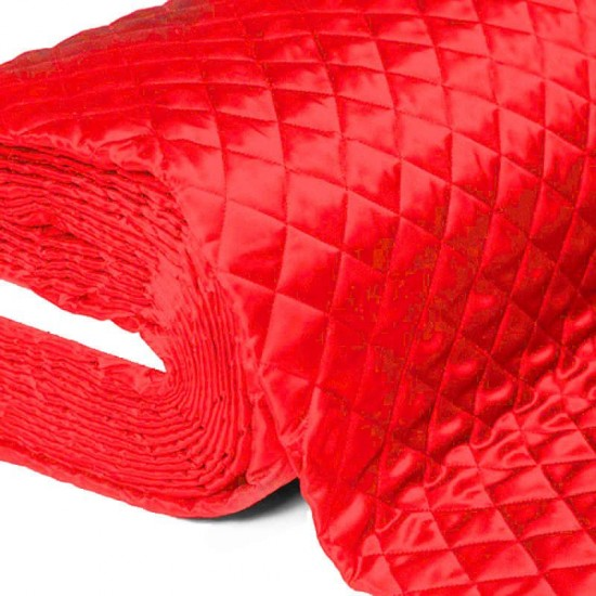 Lining Red Quilted 5cm