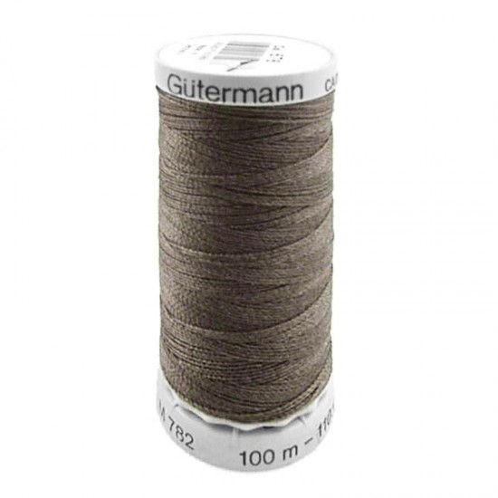 Gütermann Extra Strong Taupe 100M (676)