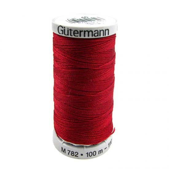 Gütermann Extra Strong Warm Red 100M (046)