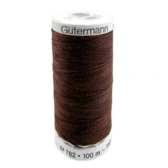 Gütermann Extra Strong Brown 100M (406)