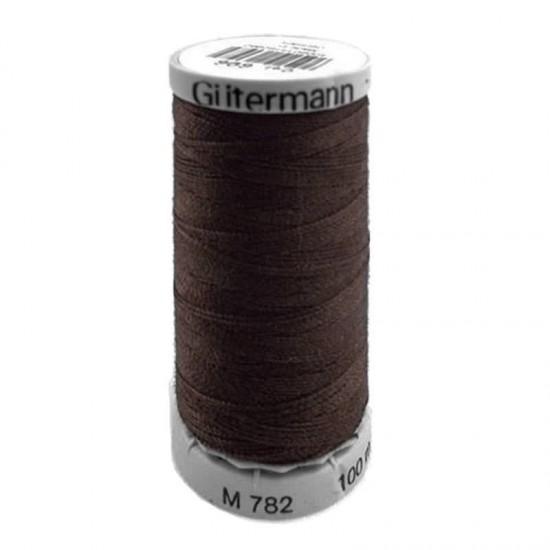 Gütermann Extra Strong Dark Brown 100M (696)