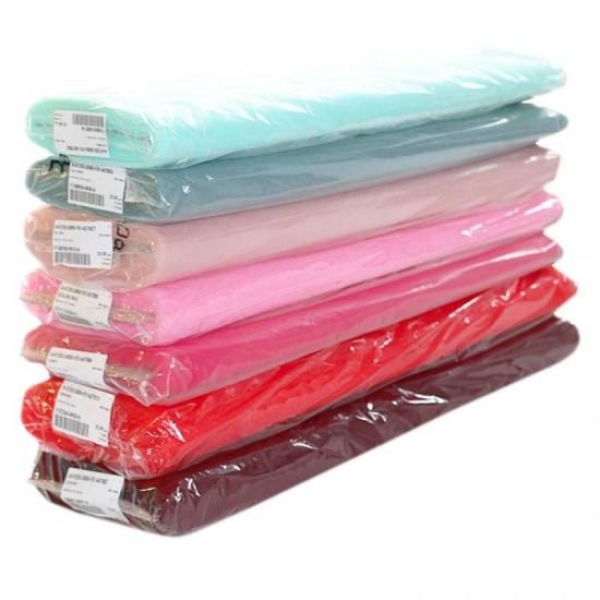 Tulle Net Fabric 300CM Wide 7 Colors 25 Meters Package