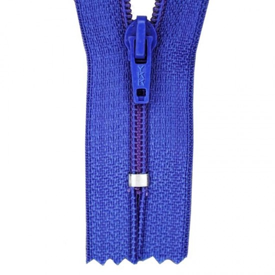 Zipper YKK Cobalt 12CM Nylon