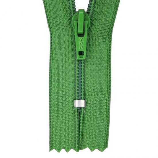 Zipper YKK Grass Green 20CM Nylon