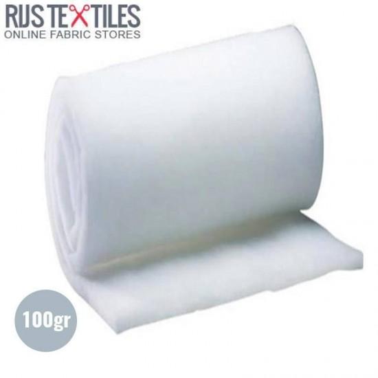 Polyester Wadding 100 Gram (Per Meter)