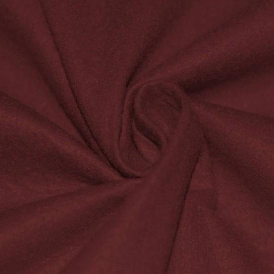 Felt Fabric Bordeaux
