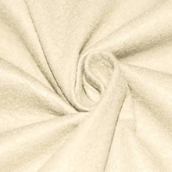 Felt Fabric Light Beige
