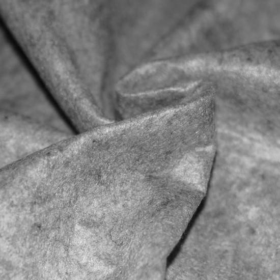 Felt Fabric Light Grey Melange