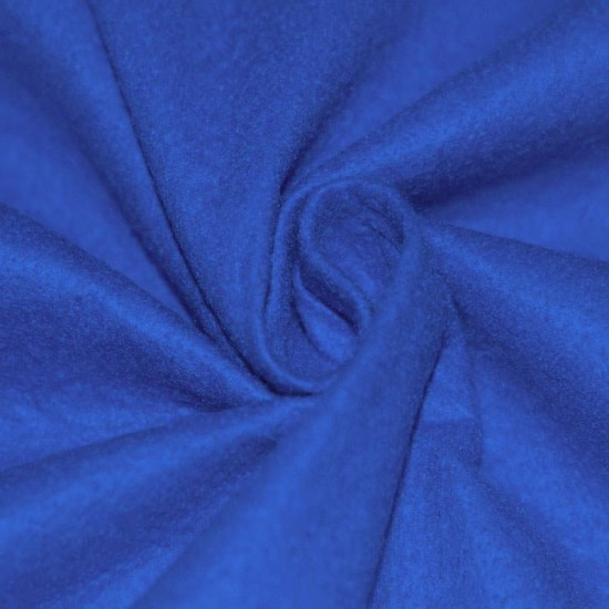 Felt Fabric Cobalt