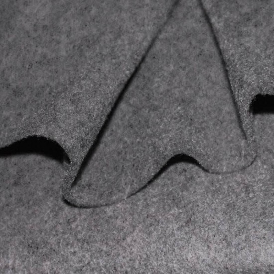 Felt Fabric 3mm Grey Melange