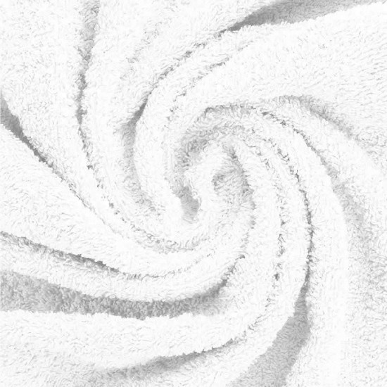 Terry Fabric White