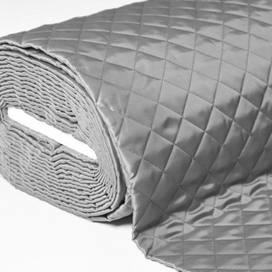 Lining Grey Quilted 5cm