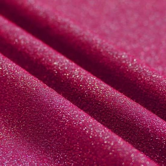 Jersey Glitter Fuchsia